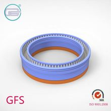 Carbon filled PTFE coil spring energized seals high load for high pressure