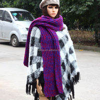 Fashion Wholesale Knitted Scarf and Glove Set Wholesale ZZ--008