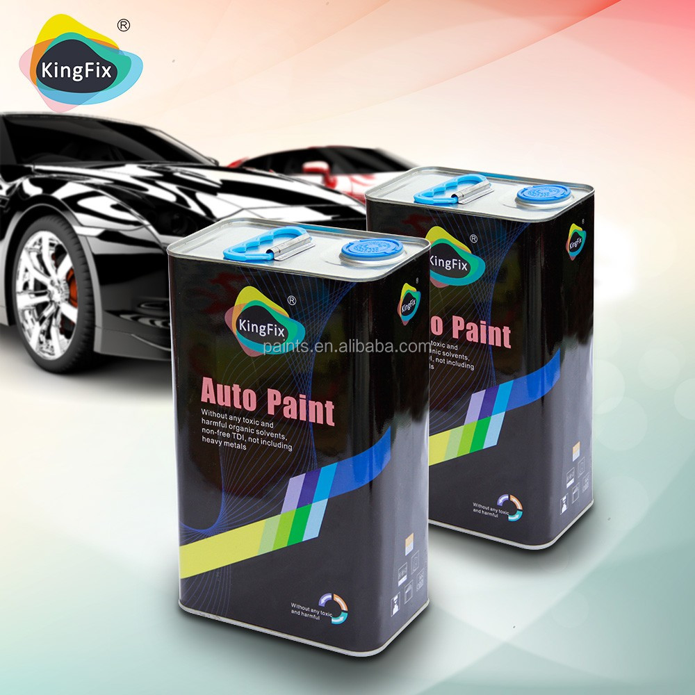 KINGFIX new best product uv resistant 2k auto paint for vechile
