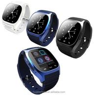 wrist watch 2016 portable wrist u8 m26 bluetooth smart watch mini phone android 4.4