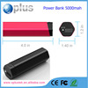 Ultra slim mobile power bank 5000 mah