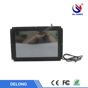 Mini 10.4 inch black LCD industrial displayer multi-used monitor