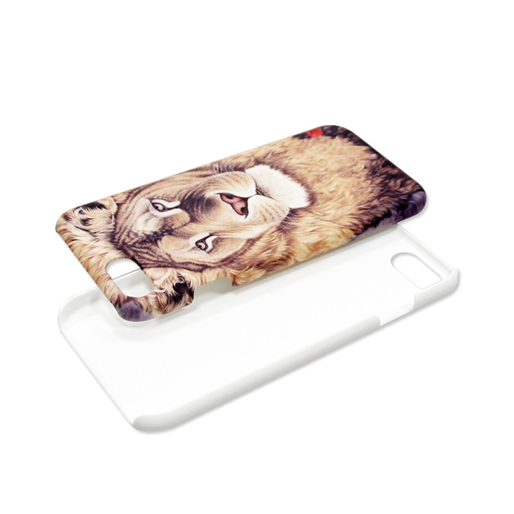 Heat Transfer Printing Blank 3sublimation mold for 3d phone case Printable Phone Back Cover Case For iPhone 7 7 Plus Custom