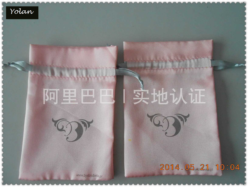 High Quality Round Bottom Satin Bag