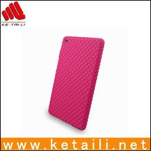Shockproof diamond pattern silicone tablet PC case for ipad mini