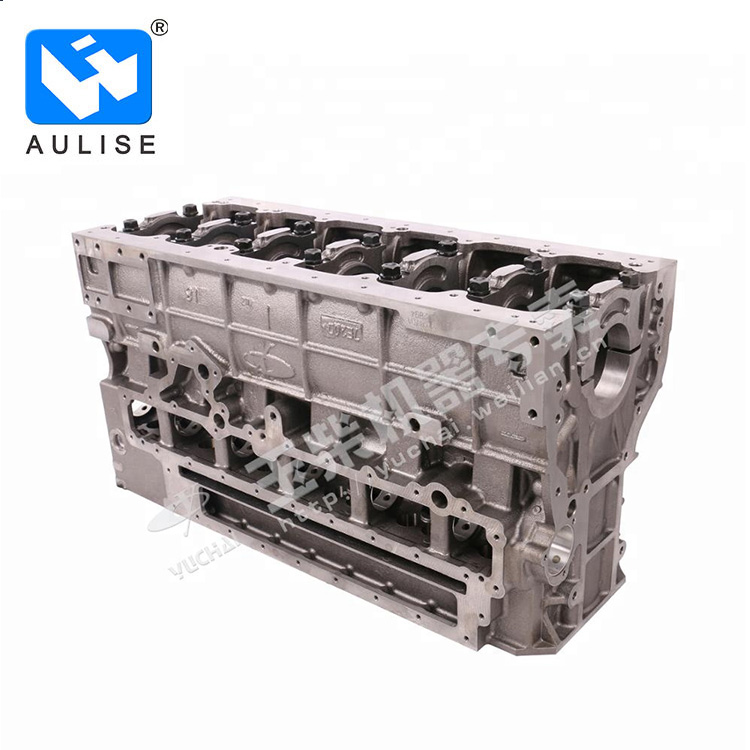 yuchai original yc6L engine part Cylinder Block L4700-1002170A-P