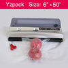 Sous vide Food Vacuum Sealer Machine. Automatic Machine