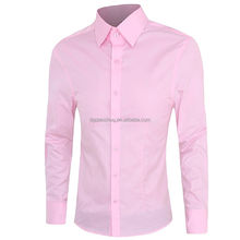 2017 Top Sale High quality business shirts clothing for men Simple dress shirt factory from China