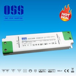 OSS30W-350CCF s-350-24 Power Supply,Moso Led Driver,Led Tube Driver