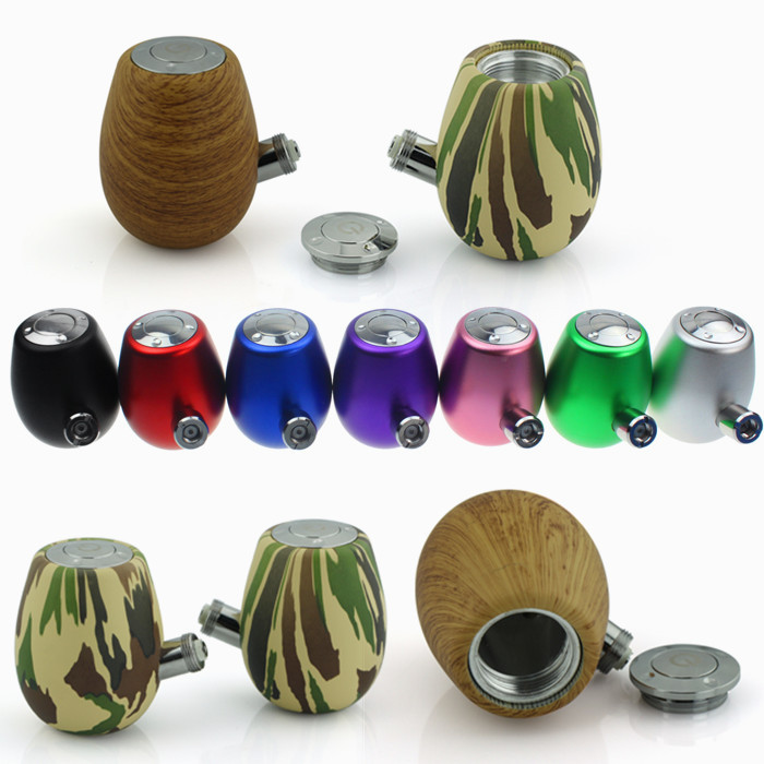 18650 E Pipe K1000 Electronic Cigarettes 300 Puffs NEW-Fashioned Vapor E Smoking Wooden Pipe kit