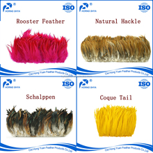 Natural or Dyed Rooster Tail Feathers For Sale