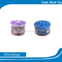 Hot Sale Scent Car Perfume Solid Metal Tin Can Gel Air Freshener