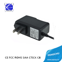 Wall mount US plug ac dc 9v 1.5a adapter charger