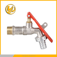 hot sales water tap lock Brass Bibcock in Chinese markets