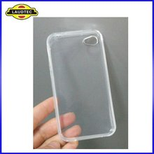 Clear TPU Cellphone Case,Soft Silicone Gel Cover Case Skin For Apple IPhone 4 4S