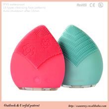 Promotional product silicone facial cleansing brush facial vida beauty product
