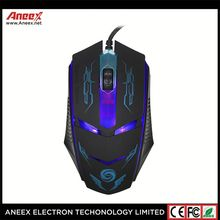 Colorful light 3200 Adjustable DPI wired Mice for Gaming