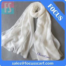 white silk scarf for painting