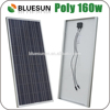 Bluesun good price per watt solar module and solar panel Poly 120W 130W 140W 150W 160W with CE TUV UL cUL