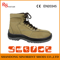 Hot selling anti slip cheap Brand name shoes Low price Non Leather Wholesale work boots Made in china SNF5047