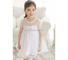 Z10022B 2015 IN STYLE COTTON BOEKNOT DREAM DRESS DOT GRENADINE DRESS