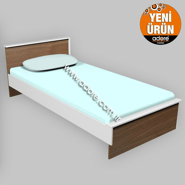 KINETIC SINGLE SIZE BED - RTA FURNITURE