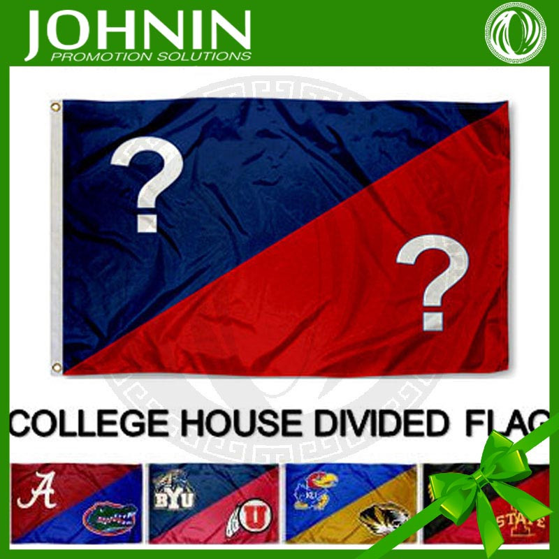 Best quality outdoor china made OEM Cubs vs Cardinals House Divided Flag
