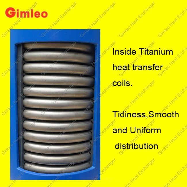 titanium heat exchanger(MHTA-12)for swimming pool heat pump