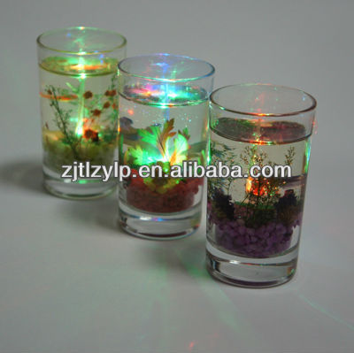 LED gel wax candle made in china