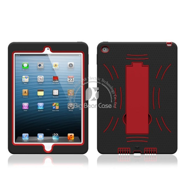 Combo shockproof cover case for apple ipad air 2 case