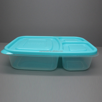 Promotional PP durable heat resistant food grade plastic container