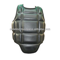 High Quality Sports Safety Custom Black Boxing Chest Guards