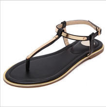 cx402 ladies <strong>flat</strong> sandals for 2017 summer
