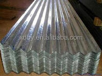 76.2mm Pitch of corrugation Galvanized Steel Sheets roofing sheet