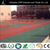 Eco Friendly Material Safety Rubber Tile