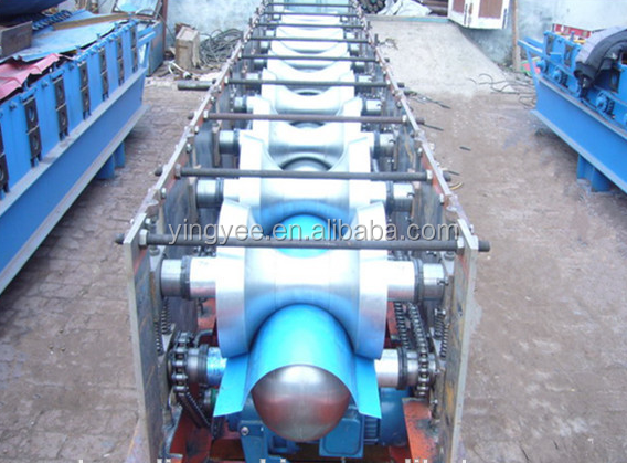 stainless steel roofing ridge cap roll forming machine price/machine make steel roofing ridge cap from China supplier