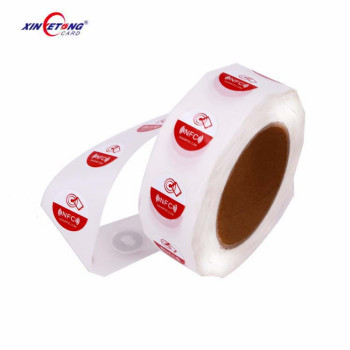 Wholesale cheap Custom Waterproof Programmable Paper PVC RFID NFC Tag/Label/Sticker