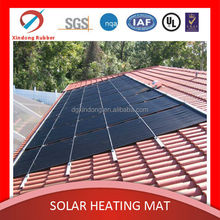 """Green"" rubber material made rigid solar panel water heater"