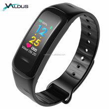 Newest Waterproof IP67 Wireless Smart Bracelet Heart Rate Monitor Smart Band for Android & IOS Phone C1plus