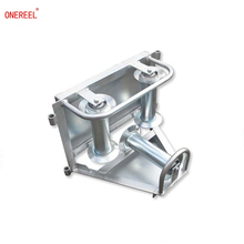 electrical cable reel roller