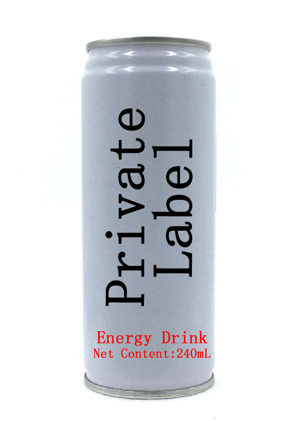 HOT Private Label 250ml Can(tinned) Power Energy Drink