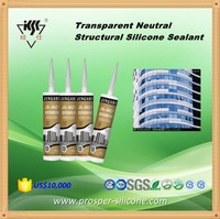 high performance one component transparent Neutral Silicone Structural Sealant for concret joints