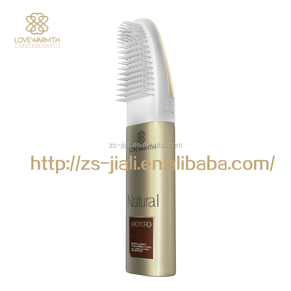 wholesale Private Label Hair color cream comb hair dye 40ml+40ml