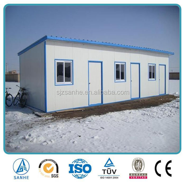 prefab modular mobile house for construction site