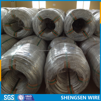hot dipped galvanized gabion hexagonal wire CHINA manufacture