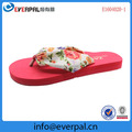 EVA Red Flip Flops For Women