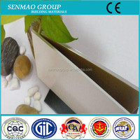 decoration building materials / high quality PVDF coating aluminum composite panel for exterior wecoration