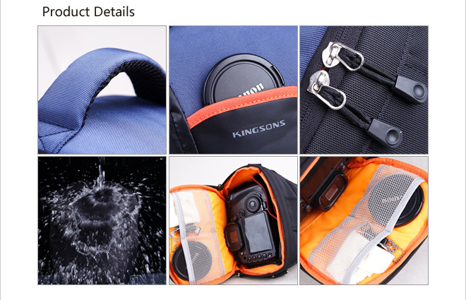 2016 fashion cheap waterproof camera bag