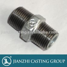 Bs EN10242 Malleable Iron Pipe fitting- 280 Hexagon Nipple