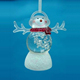christmas decoration acrylic acraft lovely lighted snowman